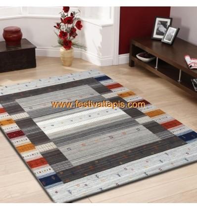 Tapis en laine,tapis laine contemporain,tapis laine pas cher,tapis en laine gris,tapis en laine fait main,tapis laine et soie