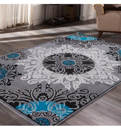 Tapis patchwork blue,tapis patchwork pas cher,tapis patchwork roche bobois,tapis patchwork gris