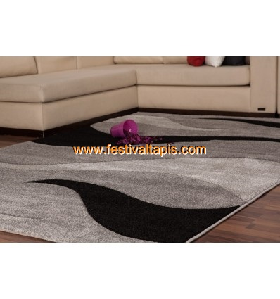 Tapis effet 3D design coloris gris tapis pour salon, tapis salon design, tapis pour salon pas cher, tapis moderne salon, tapis de salon design, grand tapis salon, tapis salon moderne, tapis design