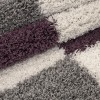 tapis shaggy lila pas cher, tapi shaggy, tapis shaggy gris violette, tapis shaggy soldes, tapis shaggy rose