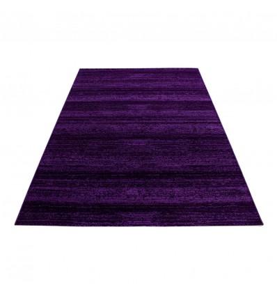 Tapis design salon chambre salle a manger lila à courtes mèches Markus