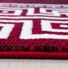 Tapis tendance vintage rouge Madison