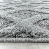 Tapis frisée effet 3D design moderne salon salle a manger POLORISE