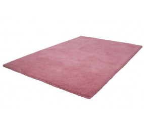 Tapis Shaggy tissé à la main coloris pebble pink MODERNE