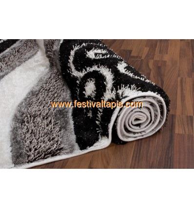 Tapis Shaggy parsémé de lurex coloris gris ,tapis moderne, tapis moderne pas cher, tapis modernes, tapis moderne design, les tapis moderne, tapis moderne gris, tapis moderne rouge, tapis moderne design pas cher, tapis rouge et gris moderne