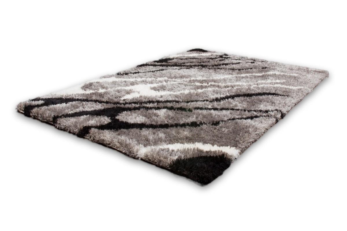 d co tapis shaggy motif gris argent 11 37 82 lille. Black Bedroom Furniture Sets. Home Design Ideas