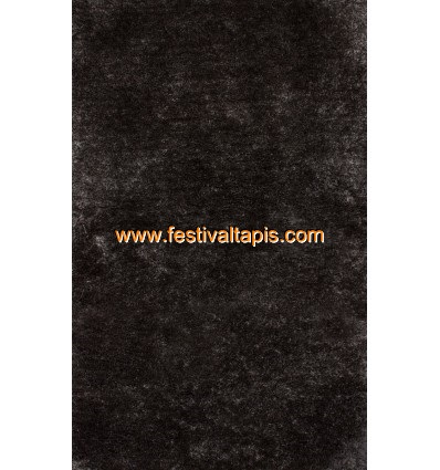 Tapis Shaggy fait main coloris noir tapis salon, tapis de salon, tapis salon pas cher, tapis de salon pas cher, tapis pour salon, tapis salon design, tapis pour salon pas cher