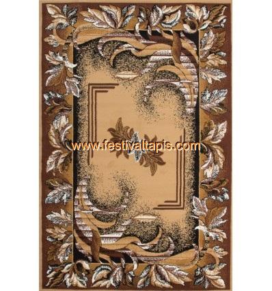 Tapis classique oriental coloris beige vif ASSO